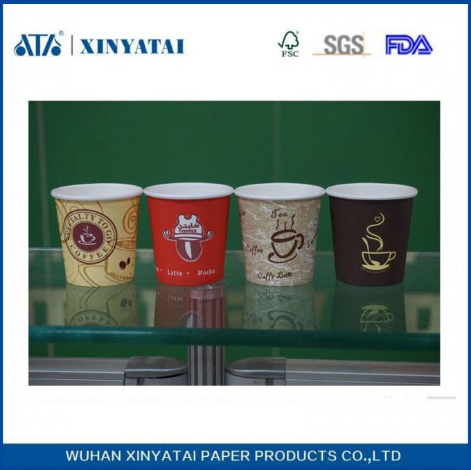 Heat Insulation Beverage Hot Drink Paper Cups 22oz , Disposable Cups for Hot Drinks