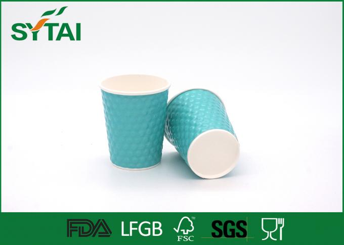 Eco - friendly Green Diamond Thick Insulated Diamond Disposable Cups