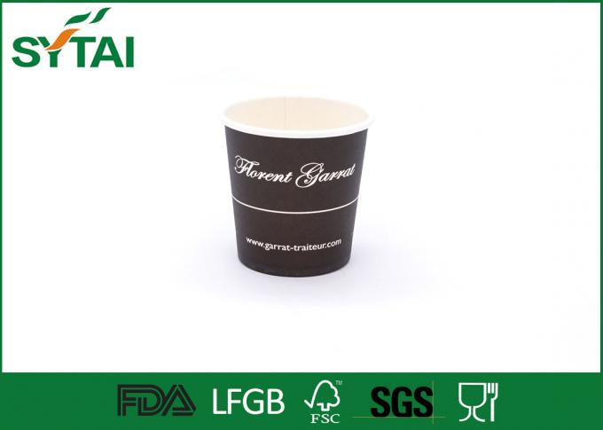 PE lined environmentally friendly disposable cups 12oz single wall printed paper