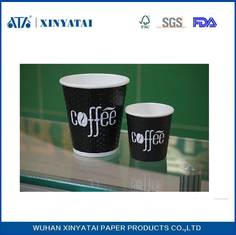 China PE Coated Disposable Custom Paper Coffee Cups Wholesale Customised Paper Cups supplier