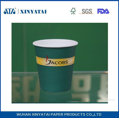 China 8 - 16oz  Double PE Coated Custom Printed Paper Cups for Cold Drinks Multi Color supplier