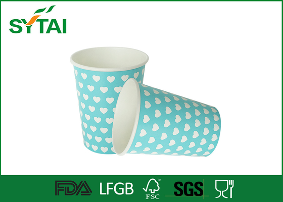 China Home / Office Single Walled Paper Cup , Paper Beverage Cups 16 oz  500ml Large Capacity supplier