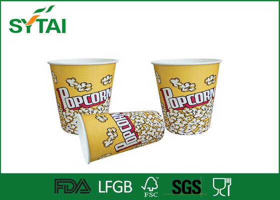 China Cute Funny  Printed Paper Popcorn Buckets / Popcorn Tubs / Popcorn Boxes Eco-friendly supplier