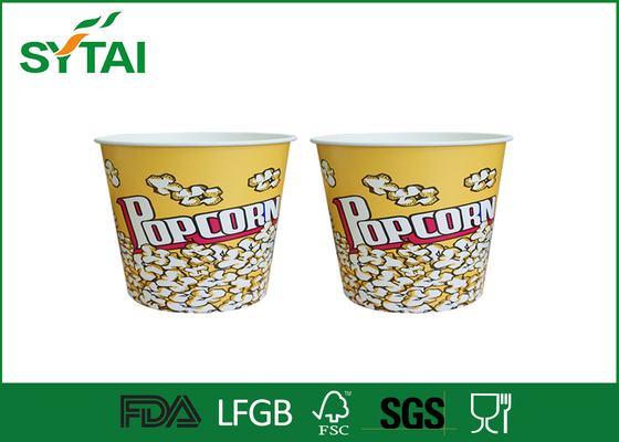 China Lovely Girl and Animated Film Role Paper Popcorn Containers , Personalized Popcorn Buckets supplier