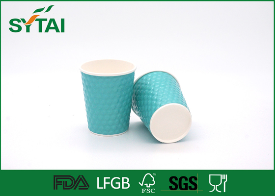 China Eco - friendly Green Diamond Thick Insulated Diamond Disposable Cups supplier