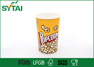 China 24-170oz Disposible Recycled Paper Popcorn Buckets With Customized Printing supplier