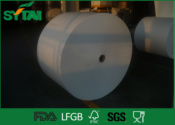 China White Custom Printed Paper Roll With Offset / Flexo Printing For Paper Cup , LFGB Listed supplier