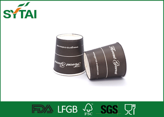 China PE lined environmentally friendly disposable cups 12oz single wall printed paper supplier
