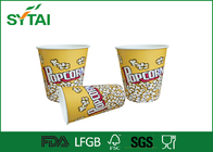 China Cute Funny  Printed Paper Popcorn Buckets / Popcorn Tubs / Popcorn Boxes Eco-friendly factory