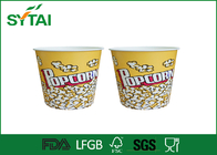 China Lovely Girl and Animated Film Role Paper Popcorn Containers , Personalized Popcorn Buckets factory