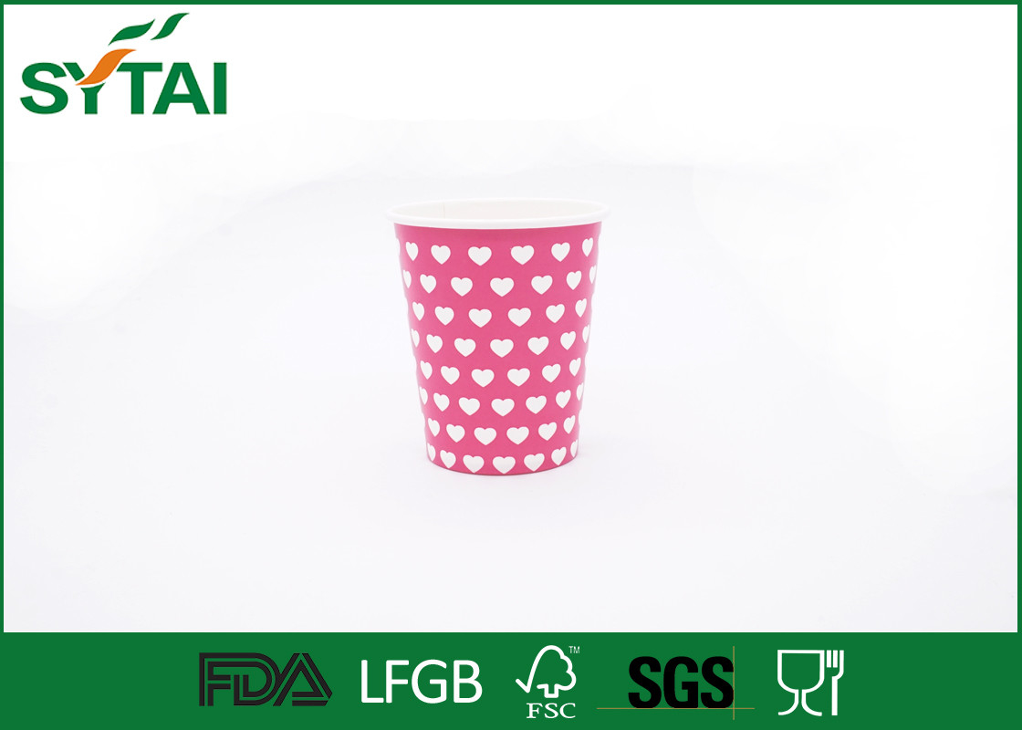 Paper Cups Coffee To Go Pink Color
