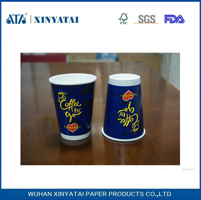 10oz Custom Printing Hot Drink Paper Cups / Eco Friendly Recycled Paper Cup