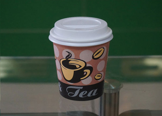 China OEM Food Grade 10oz Paper Cup Takeaway Coffee Cups And Lids factory