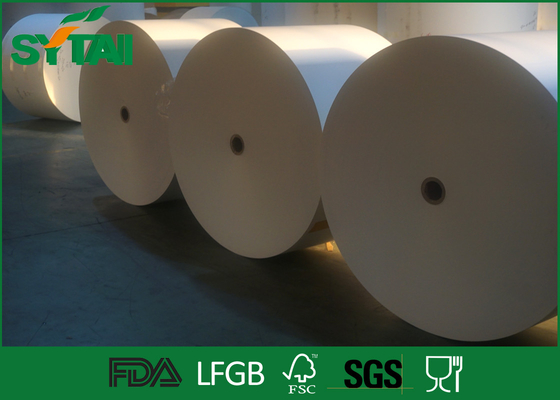 Professional Gift Paper Rolls With Food Grade Wood Pulp Paper , Size Customized