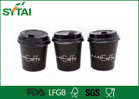 Large Capacity Healthy biodegradable paper cups Environmental Coated With PLA